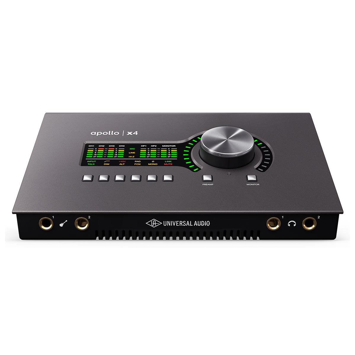 Introducing the Universal Audio Apollo X4