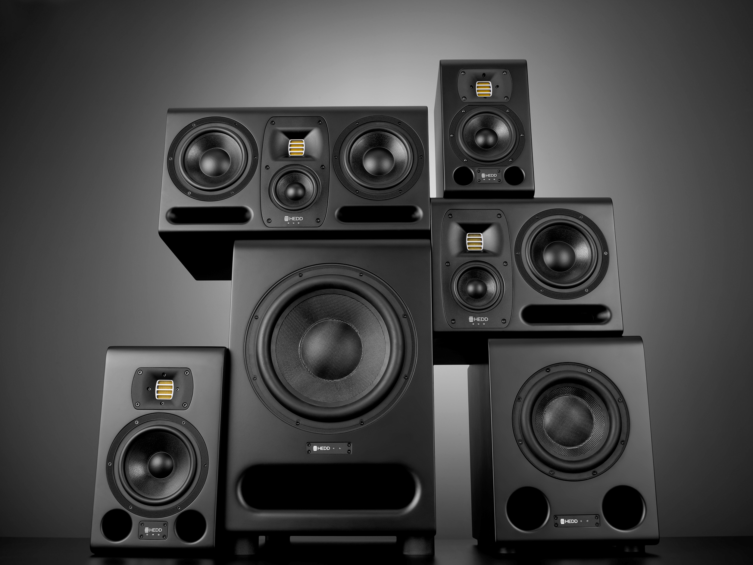 HEDD announces MK2 Monitors and BASS Subwoofers