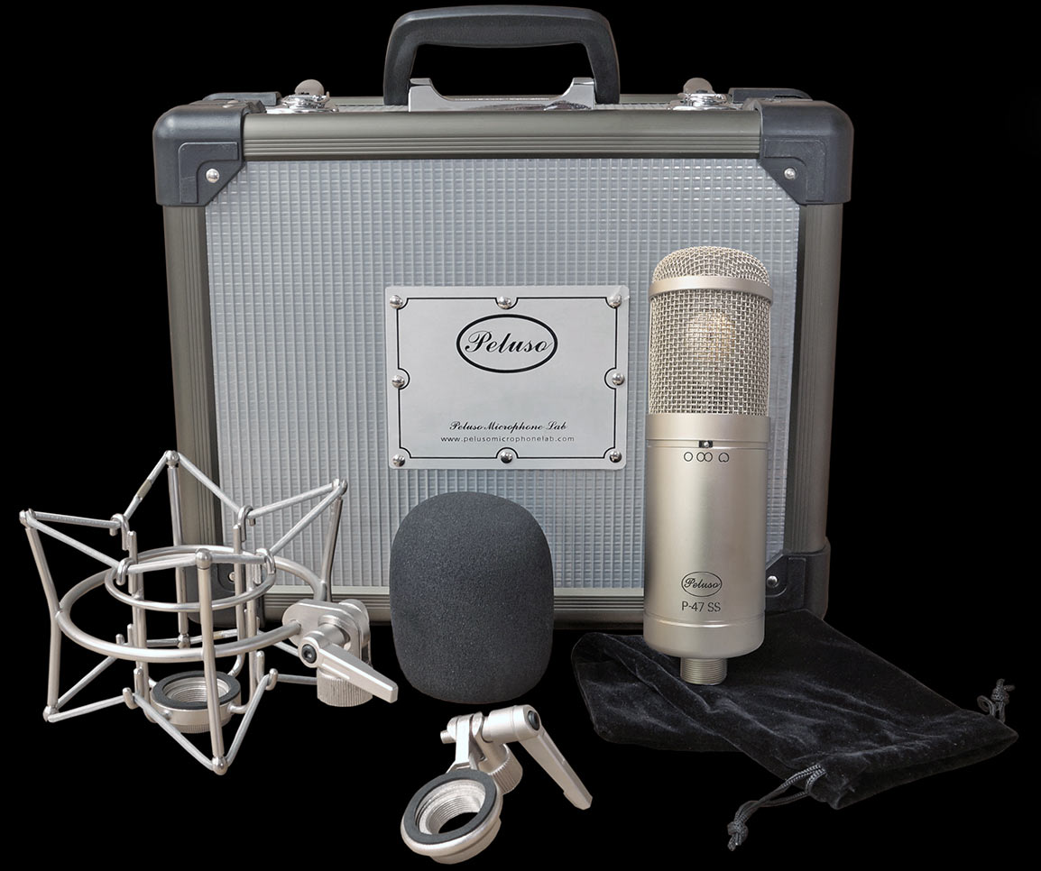 Peluso Announces the P-47 SS Microphone
