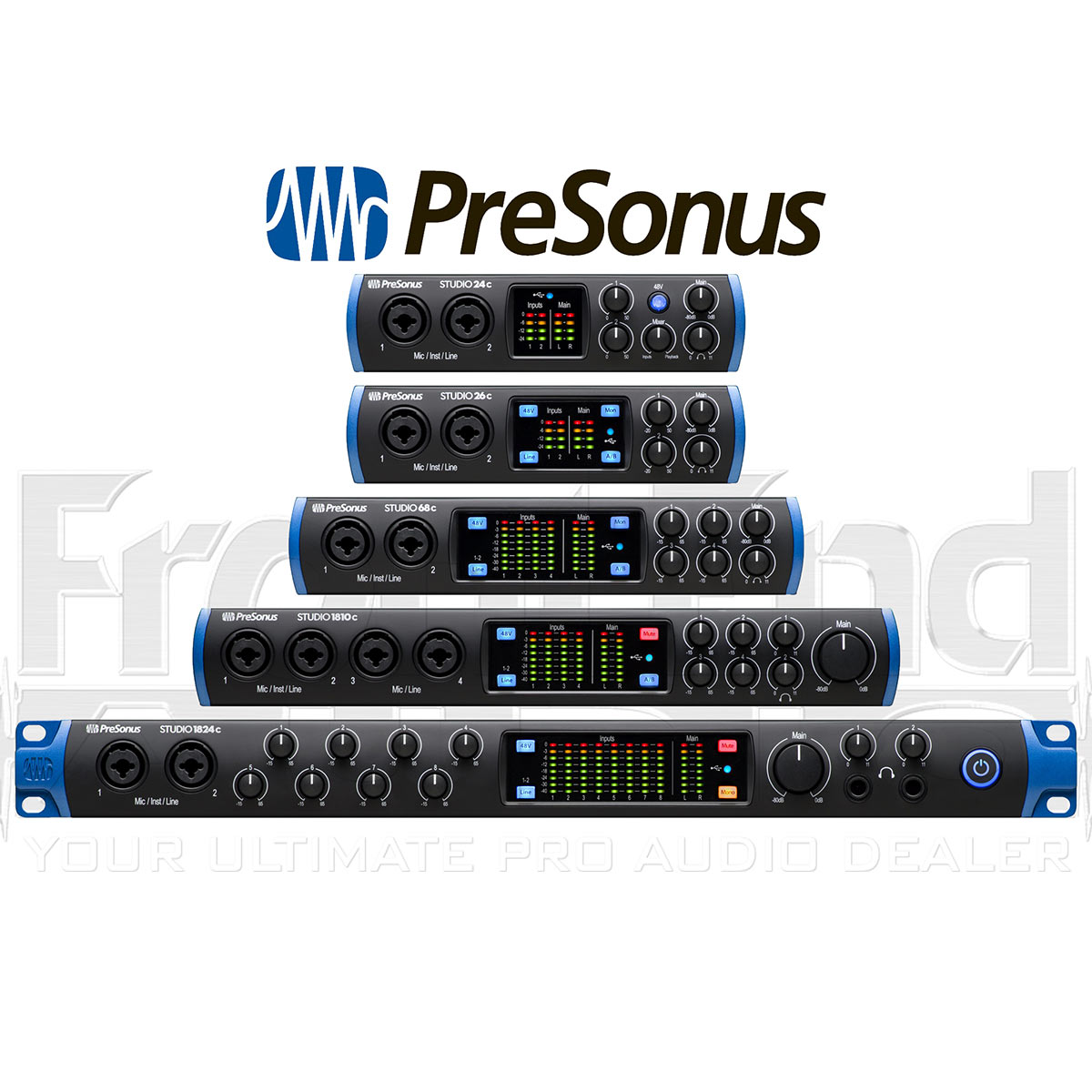 Presonus' new USB-C interfaces