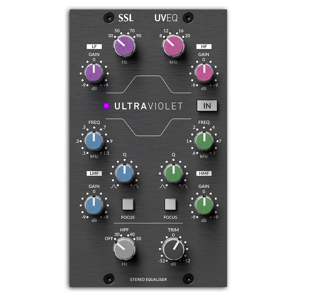 Solid State Logic UltraViolet 500-Series Equalizer