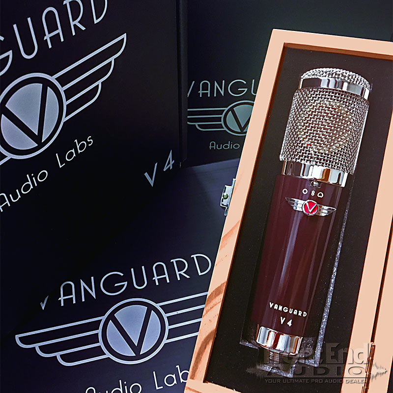 The Vanguard Audio Labs V4 Condenser Microphone