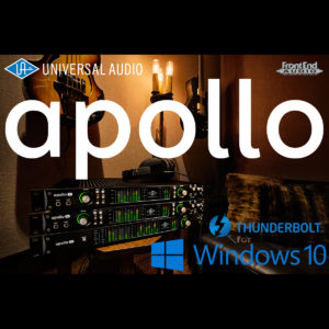 Universal Audio Apollo Thunderbolt for Windows has arrived! What you