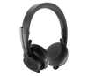 Logitech Zone Wireless Headset - Stereo - Wireless - Bluetooth - Over-the-head - Microsoft Teams Certified