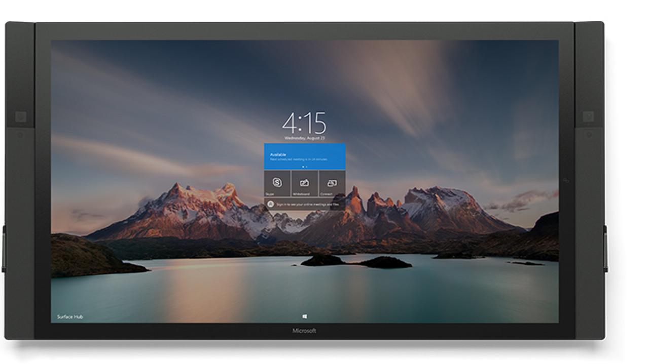 Microsoft Surface Hub 84 Inch Collaboration Board Videolink