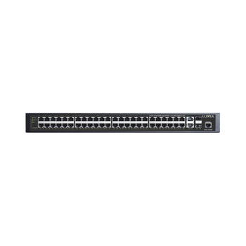 52-Port Stackable Gigabit PoE+ L2/L3 Managed Switch with US Power Cord