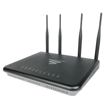 EPIC 3 - Dual Band Wireless AC3100 Gigabit Router w/ Domotz & Router Limits with US Power Cord