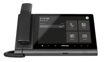 Crestron Flex 10 in. Audio Desk Phone with Handset for Microsoft Teams® Software