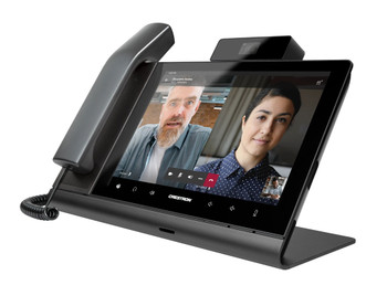 Crestron Flex 10 in. Video Desk Phone with Handset for Microsoft Teams® Software