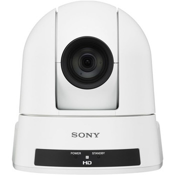 Sony Network Camera - 30x Optical - Exmor CMOS - HDMI - Ceiling Mount - White
