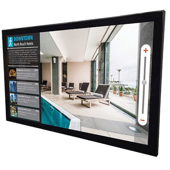 Projective capacitive touch add-on for 4th generation V and P series displays