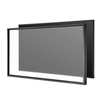 10 Point Infrared Touch Overlay for the C861Q and V864Q. HID compliant, Clear Tempered glass and easy installation. Must order C861Q or V864Q separately.