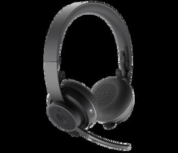 Logitech Zone Wireless Plus Headset - Stereo - Wireless - Bluetooth - Over-the-head
