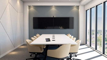 Poly Large Boardroom COMPLETE SOLUTION for Zoom, GoToMeeting, Starleaf, SIP, and H.323