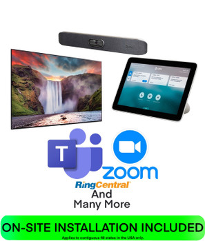 Poly Huddle Room COMPLETE SOLUTION for Teams, Zoom, BYOD, SIP, and H.323