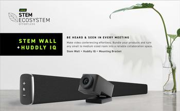 Stem Wall + Huddly IQ Bundle with Mounting Bracket