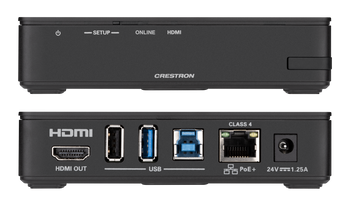 AirMedia® Series 3 Receiver 100 with Wi-Fi® Network Connectivity