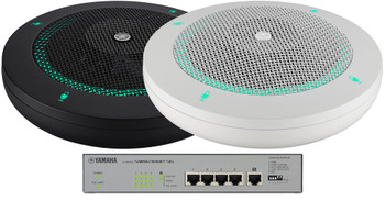 ADECIA Tabletop Microphone and Network Switch Solution