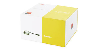 One ClickShare Button (second generation, to be used with CS-100, CS-100Huddle, CSE-200, CSE-200+, CSE-800)