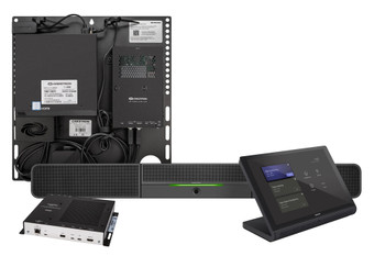 Crestron Flex Advanced Wall Mount Small Room Video Conference System for Microsoft Teams Rooms