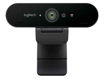 Logitech BRIO Webcam - 60 fps - USB 3.0 - 4k - HDR - Video