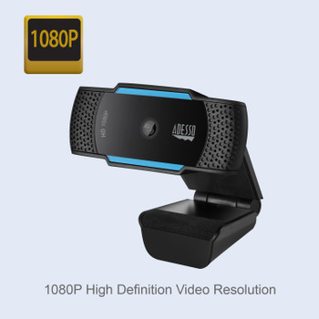 CyberTrack H5 - Business 10+ Pack - 1080P HD Auto Focus Webcam with Built-in Dual Microphone, Tripod mount and Privacy Shutter Cover