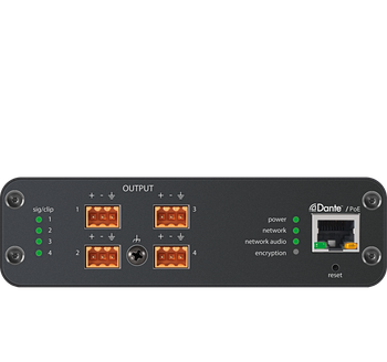 ANI4OUT-BLOCK: Audio Network Interface, BLOCK Connector, no power supply included