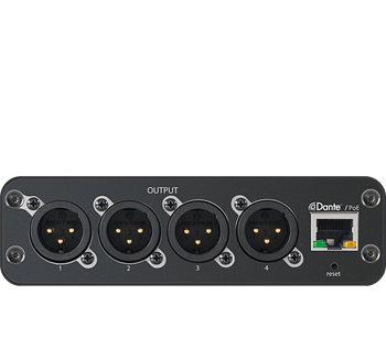 ANI4OUT-XLR: Audio Network Interface, BLOCK Connector, no power supply included