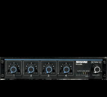 SCM410 Four Channel Automatic Mixer