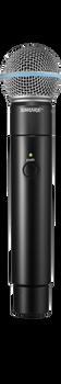 MXW2/BETA58 Handheld Transmitter with Beta 58A Capsule