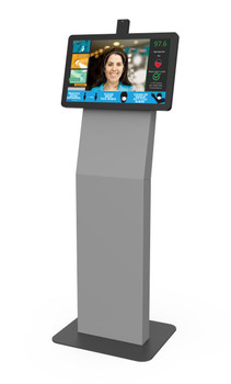 Thermal Screening Self-Service Kiosk with RECEPTION PROTECTION SOFTWARE