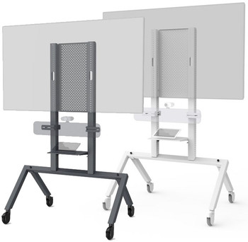 Heckler AV Cart for Google Meet Series One Room Kit
