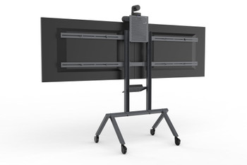 Heckler Dual Display Kit for Heckler AV Cart - Black Grey