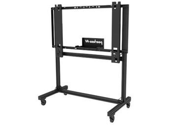 Flat Panel Floor Cart for Panasonic® 4K UHD LCD Dispaly Models (TH-84LQ70U and TH-98LQ70U), PANA-C84103