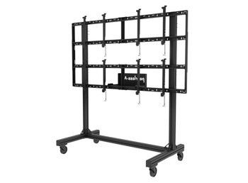 """SmartMount® Portable Video Wall Cart 2x2 Configuration for 46"""" to 60"""" Displays, DS-C560-2X2"""