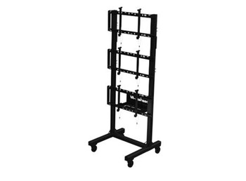 """SmartMount® Portable Video Wall Cart 1x3 Configuration for 46"""" to 60"""" Displays, DS-C560-1X3"""