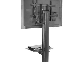 """SmartMount® Full Featured Flat Panel TV Cart for 32"""" to 75"""" TVs"""