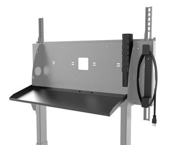 "SmartMount® Motorized Height Adjustable Flat Panel Cart 42-86"" Displays"