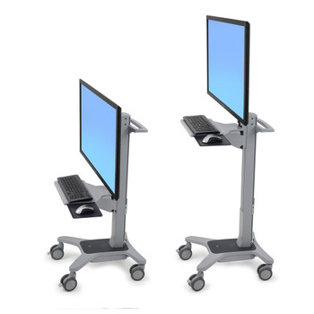 Neo-Flex® WideView WorkSpace Large Display Cart =<42""