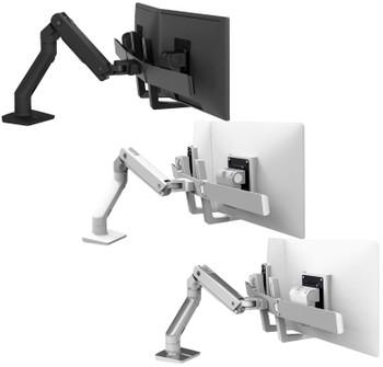 "HX Desk Dual Monitor Arm Two-Monitor Mount, ≤32"""