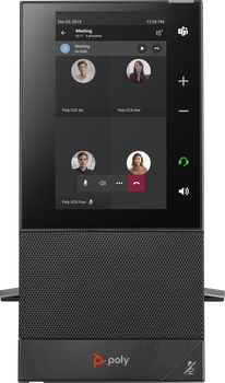 CCX 500 Business Media Phone without handset. Microsoft Teams/SFB. PoE. Ships without power supply. Made in TAA Compliant Country.