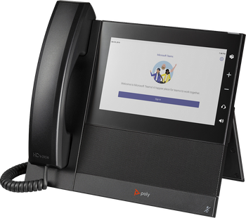 CCX 600 Business Media Phone. Microsoft Teams/SFB. PoE. Ships without power supply. Made in TAA Compliant Country.