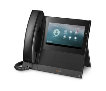 CCX 600 Business Media Phone. Open SIP. PoE. Ships without power supply. Made in TAA Compliant Country.