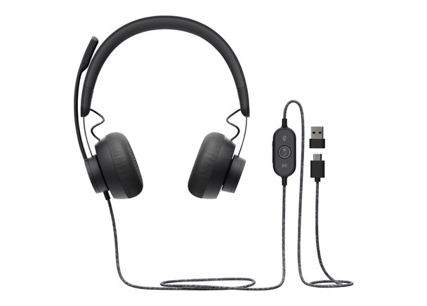 Logitech Zone Wired Noise Cancelling Headset - for Microsoft Teams