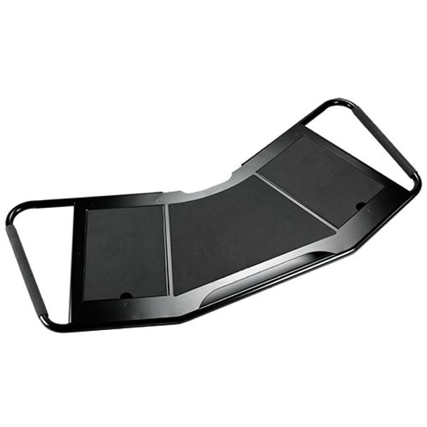 FUSION™ Large Height-Adjustable Accessory Shelf, Black