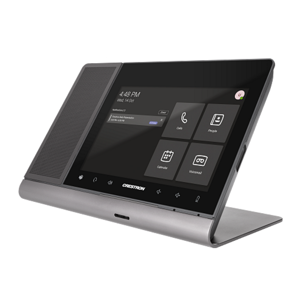 Crestron Flex 8 in. Audio Desk Phone for Microsoft Teams