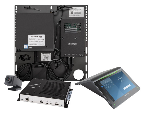 Crestron Flex Advanced Tabletop Small Room Video Conference System for Zoom Rooms™ Systems
