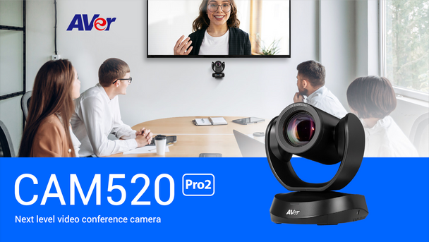 CAM520 Pro2 Conference Camera with PoE+