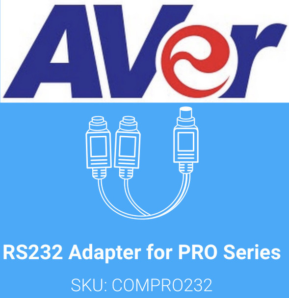 RS232 Adapter for PRO Series (CAM520 PRO/Pro2)