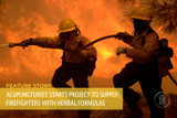 Acupuncturist Starts Project to Supply Firefighters with Herbal Formulas